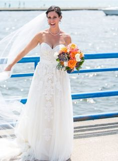 Have this empire waist lace wedding dress from Darius Bridal made to order in any measurements. Custom changes also welcome. Wedding Dress Cake, Custom Wedding Dress, Lace Wedding, Plus Size Brides, Plus Size Wedding, Wedding Dresses Pregnant Brides, Dream Dress, Casual Dresses For Women, Bridal Gowns