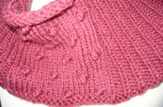 Deep Rose Hand Knit Cowl by joandben on Etsy, $24.00