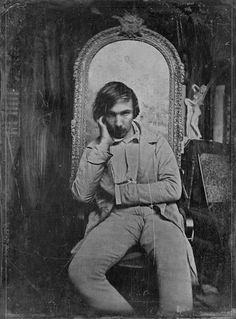 Charles Baudelaire, 1850.
