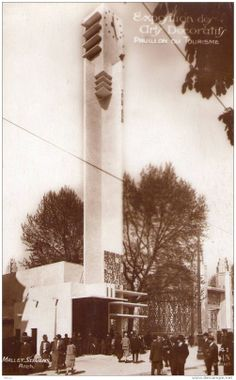 Pavillon du Tourisme, Mallet-Stevens