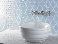HGTVRemodels' Bathroom Planning Guide offers tips for choosing the right backsplash for your bathroom renovation.