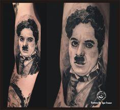 Charlie Chaplin Tattoo
