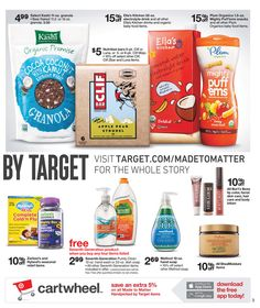 Yippee! Our NEW nutritional drinks are 15% off at Target this week + another 5% off if you use Cartwheel! http://bit.ly/MTMWeeklyAd