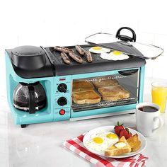 Nostalgia Retro Series 3-in-1 Family-Size Breakfast Stationbestproductscom