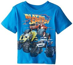 Blaze and the Monster Machines Boys' Short Sleeve Tee Shirt -- You can find more details at