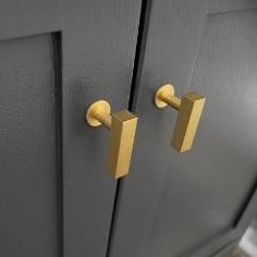 European Brass Cabinet T-Knob. These make beautiful drawer pulls or cabinet knobs for every kitchen. IMPORTANT:This item is backordered for 6-8 weeks from purc