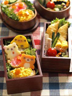 Kawaii sushi bento