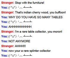 funny omegle sceenshot funny chair flip
