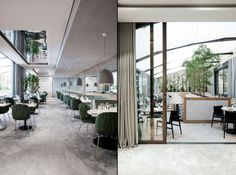 The Maison du Danemark, a prestigious cultural outpost of the Scandinavian country since the 1950s, has been fully revamped by acclaimed Copenhagen-based design studio Gamfratesi, including the venue's dining establishments Flora Danica and Copenhague.