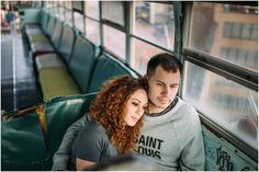 city museum st louis ferris wheel hipster offbeat engagement photos