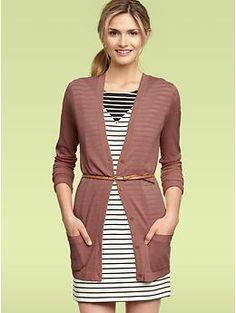 Long pocket cardigan | Gap