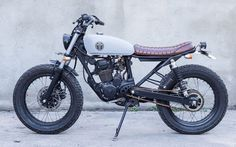 """WOW! From Bali, Indonesia, Honda Tiger 200 #BratStyle """"MM8"""" by MalaMadre Motorcycles #motos #motorcycles   caferacerpasion.com"""