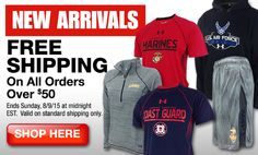 Armed Forces Gear | Buy Official Licensed U.S. Armed Forces Gear Online