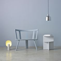 Canadian studio MSDS has unveiled a lighting and furniture range which includes a chair based on a design that dates back to the 1600s. See more at dezeen.com/design #design by dezeen