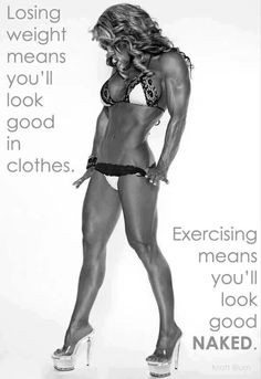 She's a little too buff for my liking but the quote is nice :)