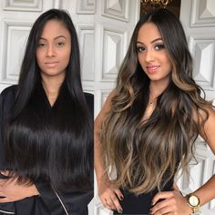 2020 Online Wigs For White Women Bobbi Boss Keeshana Steel – krlly Brown Hair Balayage, Brown Blonde Hair, Hair Color For Black Hair, Brunette Hair, Hair Highlights, Brown Highlights, Black Hair With Ombre, Bayalage, Blonde Balayage