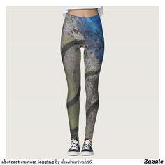 9422db7b277996 abstract custom legging Gym Leggings, Printed Leggings, Workout Leggings,  Custom Leggings, Fashion