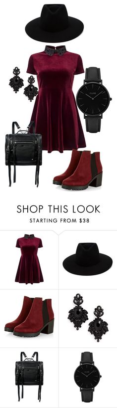 """old school"" by elviraholy on Polyvore featuring мода, Miss Selfridge, rag & bone, Tasha, McQ by Alexander McQueen и CLUSE"