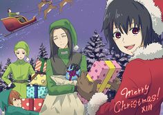 Merry X-Mas and a Happy New Year from the Juuzou Squad