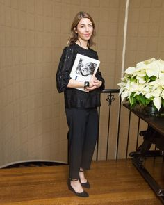 Sofia Coppola's Spin on All-Black-Wmag