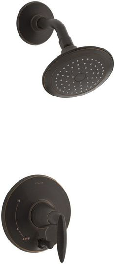 Kohler K-T45108-4 Alteo Single Handle Pressure Balanced Tub and Shower Valve Tri Oil Rubbed Bronze (2BZ) Faucet Tub and Shower Single Handle