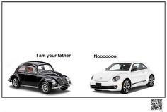 VW - funny/smart ad style that doesn't require a lot of explanation. Das auto. #advertising #cars #smart