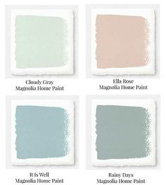 pink green blue and gray muted pastels