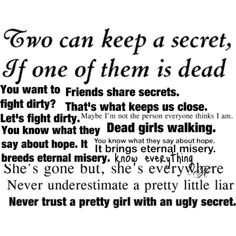 pretty little liars. Quotes - Polyvore