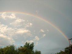 Der Regenbogen der über dem Land des Medizin Buddha aufging als erstmals die Demeter Zertifizierung 2003 ausgesprochen wurde.