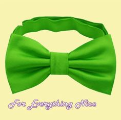 Apple Green Formal Groomsmen Groom Wedding Mens Neck Bow Tie