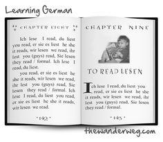 The Wander Weg: to read – lesen (present tense)