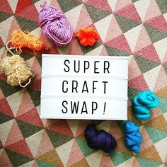 regram @supersuperhq #nottingham folks! TOMORROW! November 3rd 7-9pm we will be celebrating over a year of SuperSuper Stitch & Bitch at Malt Cross PLUS Handmade Nottingham Birthday with our first CRAFT SWAP!  Here's a few things to think about before you get to the event :) Its a great way to de-clutter your craft stash and help inspire fellow creative pals! And in true S&B style we will make it a fun friendly and super relaxed event. We won't use a points scheme for our craft swap we'll…