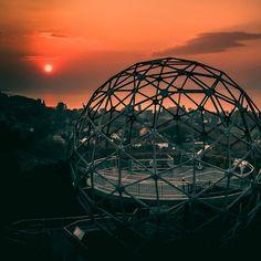 #baltonboglár #gömbkilátó 📷 @kornel_z_simon  #balaton #visitbalaton #lakebalaton #hungary #discoverhungary #hellohungary #travel… Heart Of Europe, Far Away, Hungary, Most Beautiful, Paradise, Fair Grounds, World, Places, Travel
