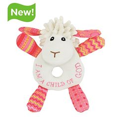 Lucy the Little Lamb Rattle -- Read more  at the image link.Note:It is affiliate link to Amazon. #LetYourBabytoPlay