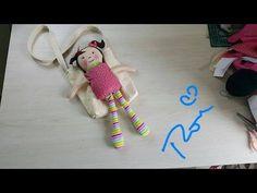 Sabor de Vida Artesanatos | Boneca Anabela Peso de Porta por Ana Scherer - 06 de Agosto de 2013 - YouTube