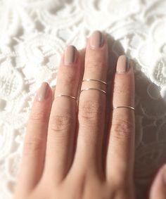 Knuckle ring set - baublesbybets.etsy.com