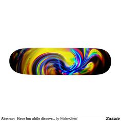 Abstract   Have fun while discovering Skateboard