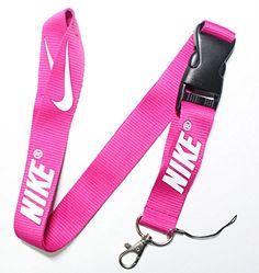 Nike Lanyard Keychain Pink