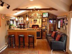 mrbowenz brew shed slash pub.... Awesome!