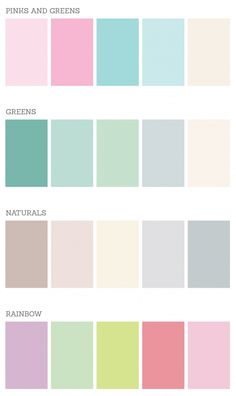 19 The Perfect Pink Color Combinations { Blush + light blue + Mint}, blush and mint color palette, blue and blush colour palette Nature Color Palette, Pastel Colour Palette, Colour Pallette, Colour Schemes, Pastel Colors, Color Combos, Colours, Pastel Grey, Pastel Shades
