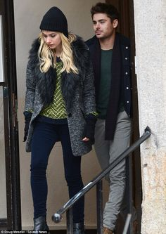 Zac Efron and Imogen Poots