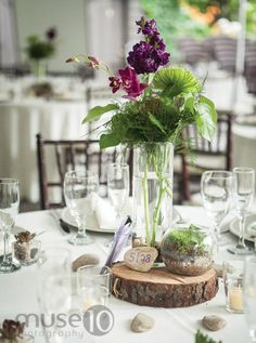 Gorgeous #tablesettings with a #rustic flair.
