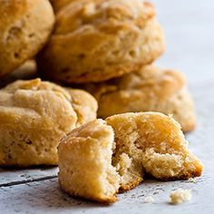Sprouted-Wheat Biscuits