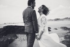 #photographie #photography #mer #beach #afterday #couple #happymoments #manon #debeurme #photographe #photographer #lille #nord #france Happy Moments, France, Couples, Wedding Dresses, Beach, Fashion, Photography, Bride Dresses, Moda