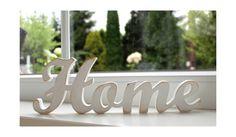 *Home*-Schriftzug+weiß+aus+Holz+Shabby-Stil++von+++++++*LuCo*+auf+DaWanda.com