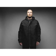 BELLON 65 PARKA - BLK Parka, Raincoat, Winter Jackets, Men, Fashion, Rain Gear, Winter Coats, Moda, Winter Vest Outfits