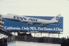 California.  Only 747s.  Five times a day
