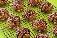 Crispy Chewy Almond Joy Coconut Macaroons