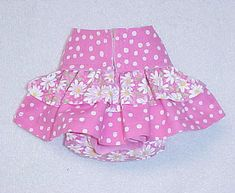Female Dog Diaper Panties Skirt Size XXSmall To by ThePurplePuppy, $16.50
