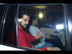 Riteish and Genelia at special screening of NH10 movie.